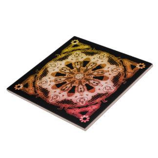 Large Ceramic Photo Tile