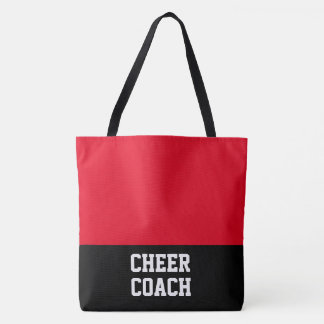 Large Cheer Coach Tote Bag