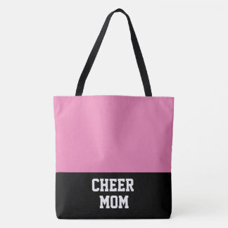Large Cheer Mom Tote Bag