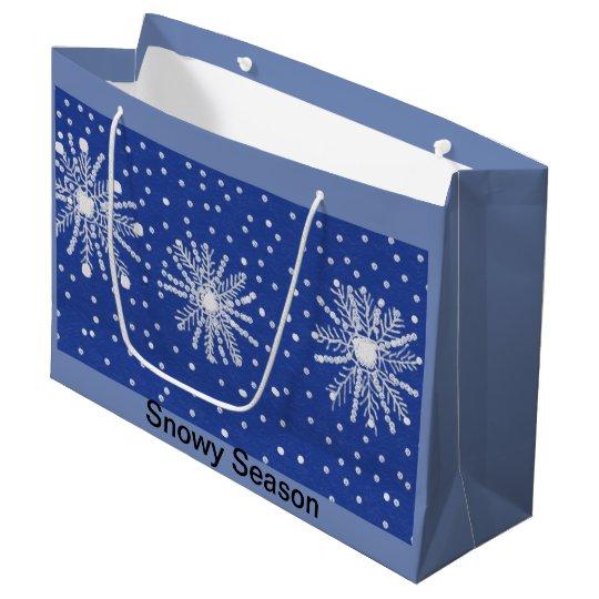 Large Christmas gift bag