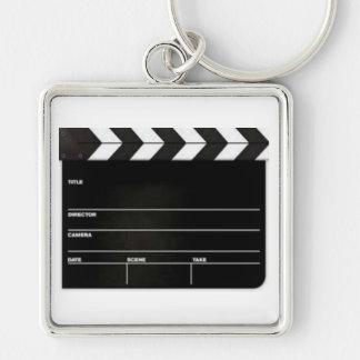 Large ClapBoard Film Slate Keychain