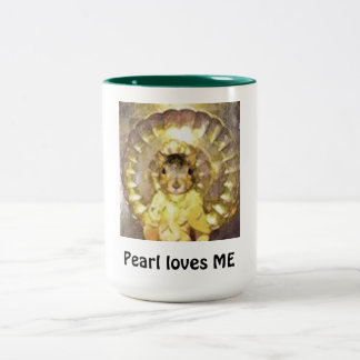 Large coffee mug for all the fans of ME Pearl