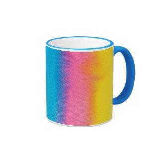 Large Coffee Mugs Multicolored Design!