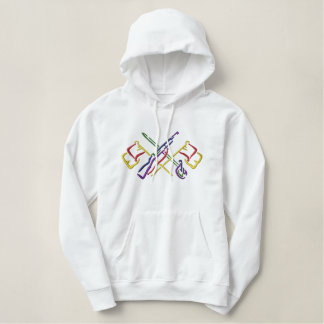 Large Color Guard Embroidered Hoodie