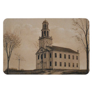 Large Congregational Church Magnet
