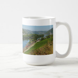 Large cup central Rhine Valley with Lorch Basic White Mug