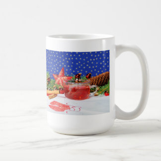 Large cup with Christmas motive