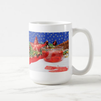 Large cup with Christmas picture