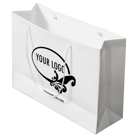Large Custom Gift Bag Company Retail Packaging