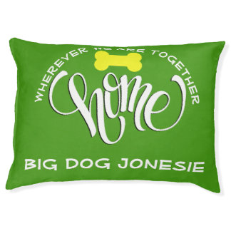 Large Dog Pillow Bed