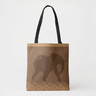 Large Elephant | Safari | Jungle Theme Tote Bag