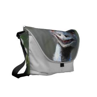 Large Emu  Messenger Bag