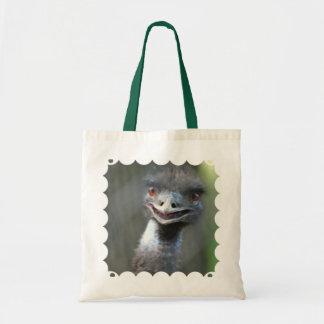 Large Emu Small Tote Bag