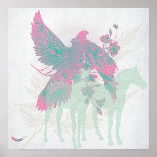"""Large """"FEEL ALIVE"""" Artwork Print - On Sale 60% Off"""