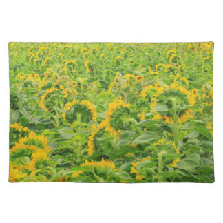 Large field of sunflowers near Moses Lake, WA 3 Placemat