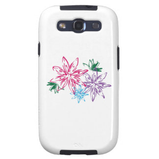 LARGE FLORAL GALAXY SIII CASE