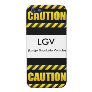 Large Gigabyte Vehicle iPhone 5 Case