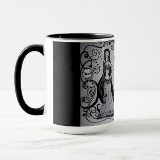 Large Gothic Belly Dancer Mug