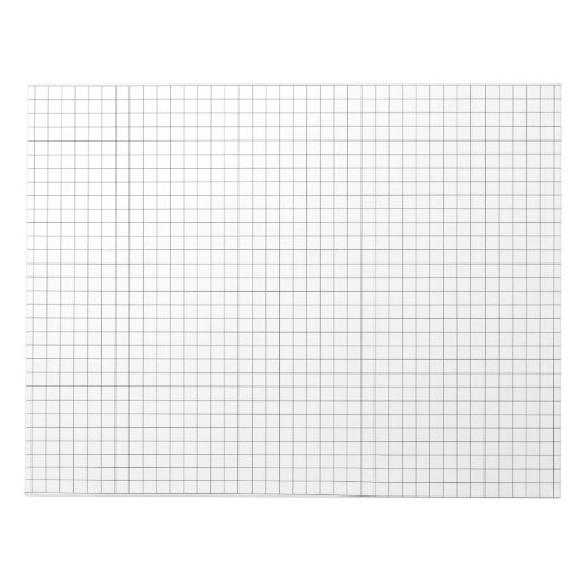 large graph paper note pad