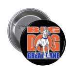 Large Great Dane Pinback Buttons