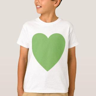 Large Green Heart T-Shirt
