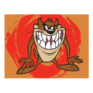 Large Grin TAZ™ Postcard
