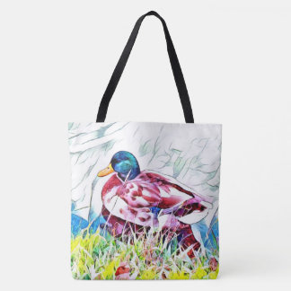 Large Grocery Beach Tote Bag