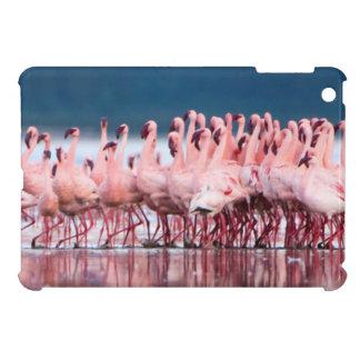 Large Group Of Lesser Flamingos iPad Mini Cover