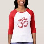 Large Grunge OM Symbol Spirituality Yoga