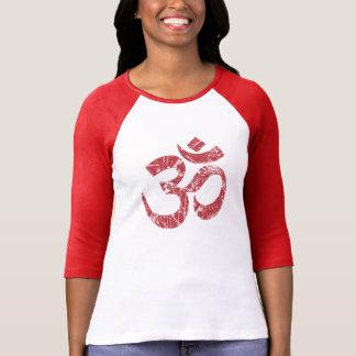 Large Grunge OM Symbol Spirituality Yoga Shirts