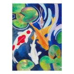 large Koi pond Poster