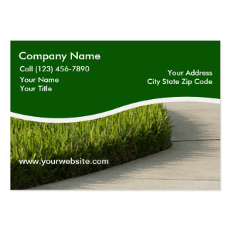 Large Landscaping Business Cards
