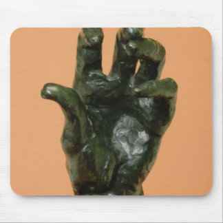 Large Left Hand (bronze) Mouse Pad