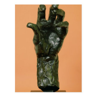 Large Left Hand (bronze) Postcard