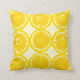 Large Lemon Slices Cushion
