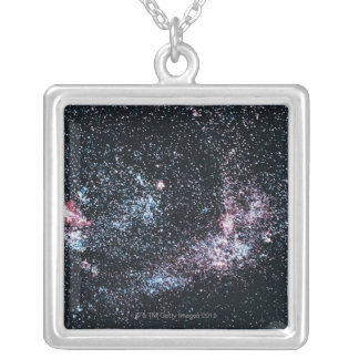 Large Magellanic Cloud 3 Silver Plated Necklace