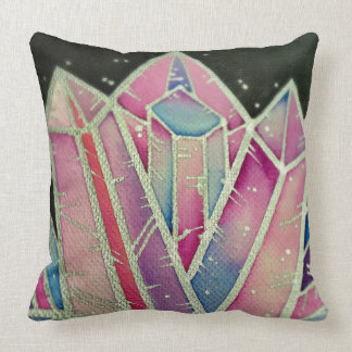 Large Magic Rainbow Crystal Cushion