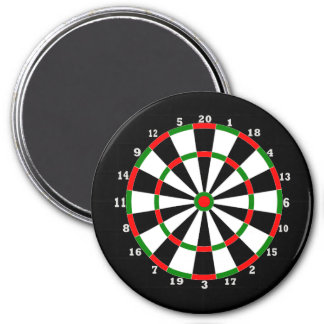 Large Magnet - Dartboard Design