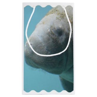 Large Manatee Underwater Small Gift Bag