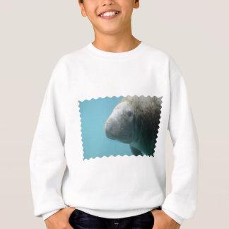 Large Manatee Underwater Sweatshirt