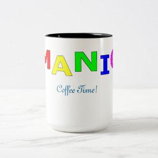 Large Manic Mug