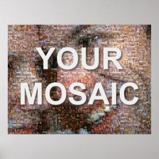 Large mosaic (landscape) poster