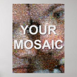 Large mosaic (portrait) poster