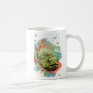 Large Mouth Bass Coffee Mugs