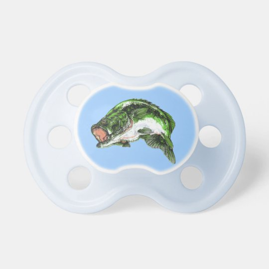 Large mouth Bass Pacifiers