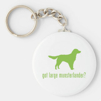 Large Munsterlander Key Ring