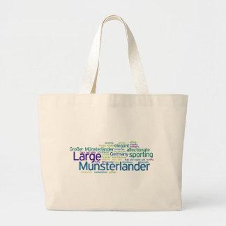 Large Munsterlander Large Tote Bag