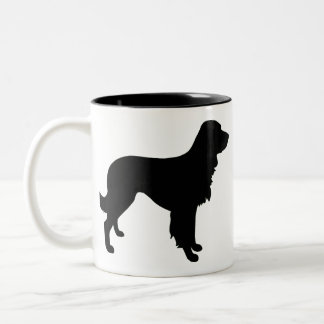 Large Munsterlander Two-Tone Coffee Mug