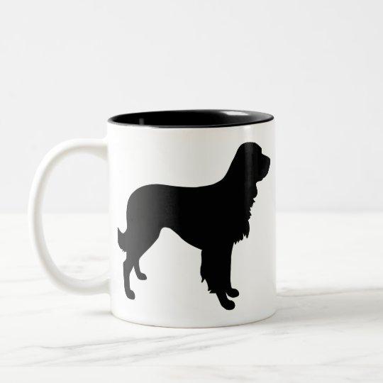 Large Munsterlander Two-Tone Coffee Mug