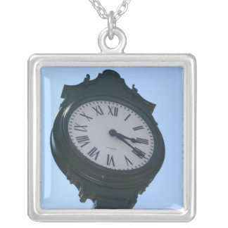 Large Necklace PHOTOGRAPH OF CLOCK